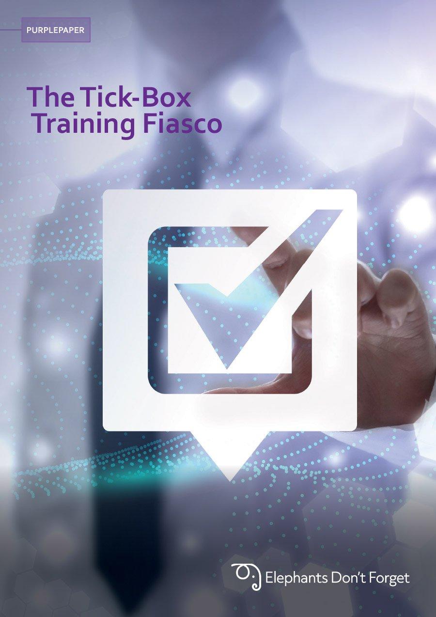 Tick-Box Training Fiasco